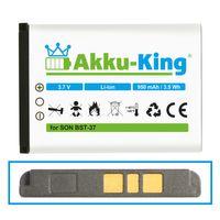 Akku-King Akku ersetzt Sony-Ericsson BST-37 - für K750i D750i K600i K608i K610i V600i V630i W550i W700i W710i W800i W810i - Li-Ion