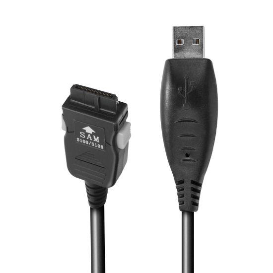 USB Datenkabel kompatibel mit Samsung SGH-S100 - 125cm