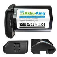 Akku-King Akku kompatibel mit Canon LP-E4 Li-Ion - 2600mAh mit Samsung Zellen - für EOS 1D Mark III, 1D Mark IV ( EOS-1D X dieses Modell ohne Restlaufzeitangabe)