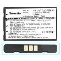 Akku-King Akku kompatibel mit LG BSL-58G - Li-Ion - für C3100 C3300 C3310 C3320 C3380 G650 GT8124 L342i L5100 M4410 T5100
