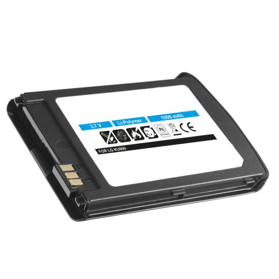 Akku kompatibel mit LG LGLP-GBAM - Li-Polymer schwarz - für KU800 Chocolate UMTS