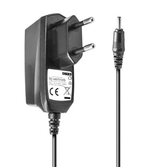 Ladegerät kompatibel mit Nokia 1610, 1611, 1630, 3110, 8148, MOTOROLA C115, C261, V171 - für Motorola T191 - 3,1 x 1,5mm