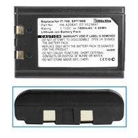 Akku für Casio DT-X10, Fujitsu iPad 100, Symbol PDT8100, PPT2700, PPT2800, PPT8800, SPT1800 - Li-Ion 1800mAh