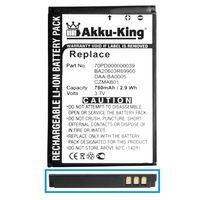 Akku-King Akku kompatibel mit Creative DAA-BA0005 -  - Li-Ion 780mAh - für Zen micro, Zen Micro 5GB, Zen Micro 6GB, Zen Micro Photo