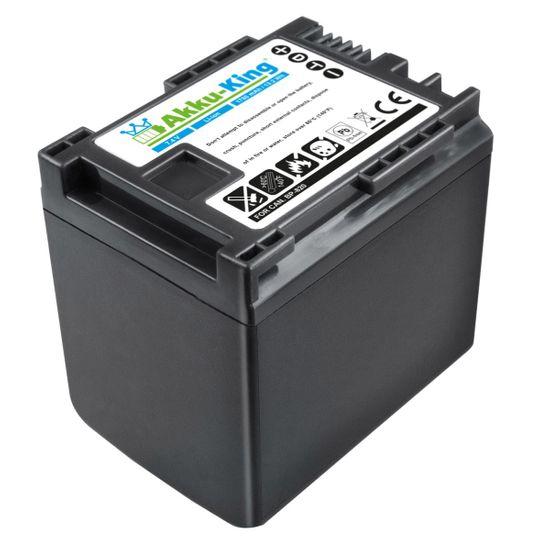 Akku kompatibel mit Canon BP-820, BP-819 - Li-Ion 1780mAh - für Legria HF G30, G25, G20, G10, M30, M31, M32, M40, M41, M300, M301, M306, M400