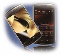 Spiegel-Displayschutzfolie für Sony-Ericsson Xperia X1