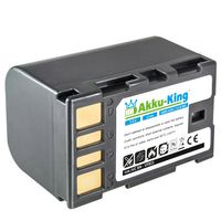Akku kompatibel mit JVC BN-VF815, BN-VF808, BN-VF823, BN-VF915 - Li-Ion 1600mAh - für GZ-HD300, GR-D725, GR-D750, GZ-MS130