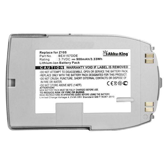 Akku kompatibel mit Samsung BST157ADE, BEX157DDE anthrazit - Li-Ion - für SGHZ105
