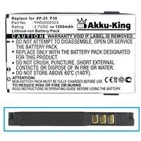 Akku-King Akku für i-mate Jama, Jama 101, P30, Simvalley XP 25 - Li-Ion 1200mAh