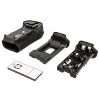 Batteriegriff kompatibel mit Nikon D300, D300S, D700 inkl. IR- Fernbedienung - ersetzt MB-D10H