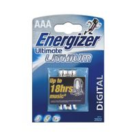 Batterie Energizer Ultimate Lithium Micro L92 (AAA) (2er Blister)