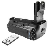 Batteriegriff für Canon EOS 7D - ersetzt BG-E7 - mit Fernbedienung
