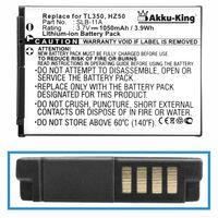 Akku-King Akku ersetzt Samsung SLB-11A, SLB-10A - Li-Ion 1050mAh - für CL65, CL80, EX1, HZ15, ST1000, TL240, WB100, ES55