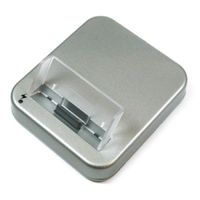 USB Dockingstation für iPhone 4, 4S - silber