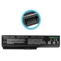 Akku kompatibel mit Toshiba PA3634U PA3638U  - Li-Ion 4400mAh 10,8V  - für Dynabook CX, Equium U400, Portege M800, Satellite Pro M300