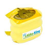 Knopfzellen-Akku kompatibel mit 3/V150H Säulenakku - 3.6V Ni-MH 150mAh - für Motorola PMB3.6B, R2600, R2660, R2670