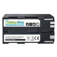 Akku-King Akku kompatibel mit Canon BP-950, BP-950G - Li-Ion 4500mAh - für C2, DM-MV1, ES-50, ES-60, FV1, G-10Hi, XF100, XL1S, V520