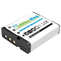 Akku-King Akku kompatibel mit Casio NP-130 - Li-Ion 1600mAh - für Exilim EX-H30, EX-H30BK, EX-ZR100, EX-ZR200, EX-ZR300, EX-ZR1000, Tryx