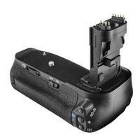 Batteriegriff kompatibel mit Canon EOS 60D, 60Da - ersetzt BG-E9, BG-E9H inkl. 2x Akkuschalen und Fernbedienung