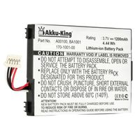 Akku kompatibel mit Amazon BA1001 - Li-Ion 1200mAh -  für Amazon Kindle 1, Kindle D00111