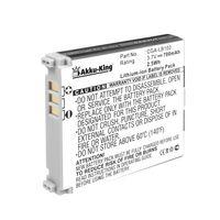 Akku-King Akku kompatibel mit Panasonic CGA-LB102 - Li-Ion 700mAh - für KXTW221 G, KXTU301, KXTU311, KXTU320, KXTU321, KXTU325