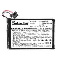 Akku-King Akku kompatibel mit Navigon LIN363002 - Li-Ion 850mAh - für 1400, 1410, 2410