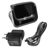 USB-Dockingstation für Samsung Galaxy S3 GT-i9300 - Ladestation mit Akku-Fach