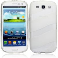 Silicon Case (TPU) für Samsung Galaxy S3 GT-i9300 - Wave transparent