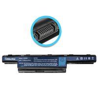 Akku kompatibel mit Acer AS10D41, AS10D51,AS10D56 - Li-Ion (6 Zellen) 4400mAh 10.8V - schwarz - für Aspire 4551, 4741, 4771