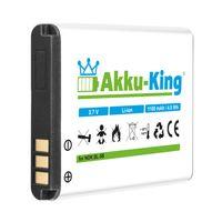 Akku-King Akku für GPS Tracker GT102, TK102, TK102A, TK102B, TK106, Technaxx MusicMan MA Soundstation - Li-Ion 1100mAh