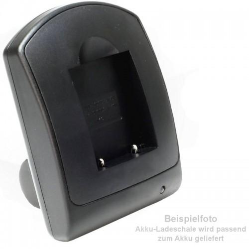 Ladegerät kompatibel mit Akku Sony NP-FP30, NP-FP50, NP-FP61, NP-FP90, NP-FH30, NP-FH100, NP-FV30, NP-FV70 - mit USB-Anschluss