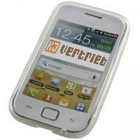 Schutzhülle TPU Hard Case für Samsung Galaxy Ace DUOS S6802 - S Curve - Transparent