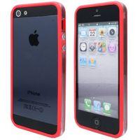 TPU Bumper Case für iPhone 5, 5S - Rot