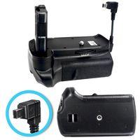Batteriegriff kompatibel mit Nikon D3100, D3200, D3300 SLR-Digitalkamera + 2x EN-EL14a Akku-King Akkus