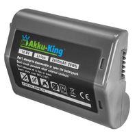 Akku kompatibel mit Nikon EN-EL18, EN-EL18a, EN-EL18b - Li-Ion 2600mAh - für Nikon D4, D4S