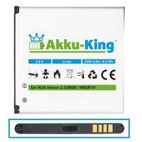 Akku-King Akku ersetzt Huawei HB5R1V - Li-Ion 2250mAh - für Honor 2, U9508, Honor Quad, Ascend G615