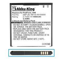 Akku-King Akku kompatibel mit Asus SBP-28 0B110-00150000 - Li-Ion 1500mAh - für Padfone, A66