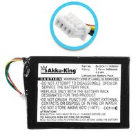 Akku kompatibel mit Navigon BI-GC411-1K6KAY - Li-Ion 1600mAh - für 7210, 7310