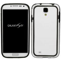 Bumper TPU Hard Case für Samsung Galaxy S4 GT-i9500, GT-i9505 - Transparent Schwarz