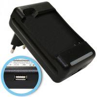 Akku-Ladegerät für LG Optimus Speed P990, Optimus 3D P920, P920H, P925, P929, C729 mit USB-Anschluss