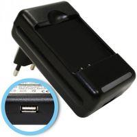 Akku-Ladegerät für Sony-Ericsson Vivaz, pro, W8, U8, Kurara, Xperia X8, mini, mini Pro, EP500 mit USB-Anschluss