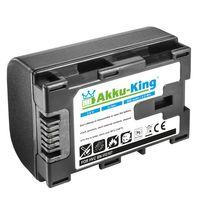 Akku kompatibel mit JVC BN-VG107 für JVC Everio GZ-Reihe - Li-Ion 900mAh - ersetzt auch JVC BN-VG114, BN-VG121, BN-VG138