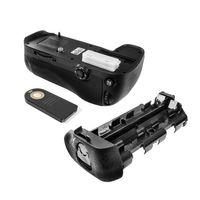 Batteriegriff kompatibel mit Nikon D600, D610 - inkl. IR-Fernbedienung - ersetzt MB-D14, MB-D14H