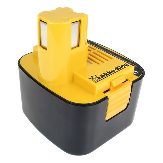 Akku-King Akku kompatibel mit Panasonic EY9001, EY9006 / EY9103, EY9200 - Ni-MH 3300mAh 12 Volt - für EY3000, EY6100, EY6407, EY6601BC