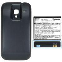 Akku-King Power-Akku für Samsung Galaxy Ace 2 GT-i8160, GT-i8160P - Li-Ion 3100mAh - Akkudeckel schwarz