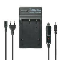 2in1 KFZ + Netz Ladegerät kompatibel mit Panasonic Akku DMW-BCG10, DMW-BCG10E, DMW-BCF10, DMW-BCF10E