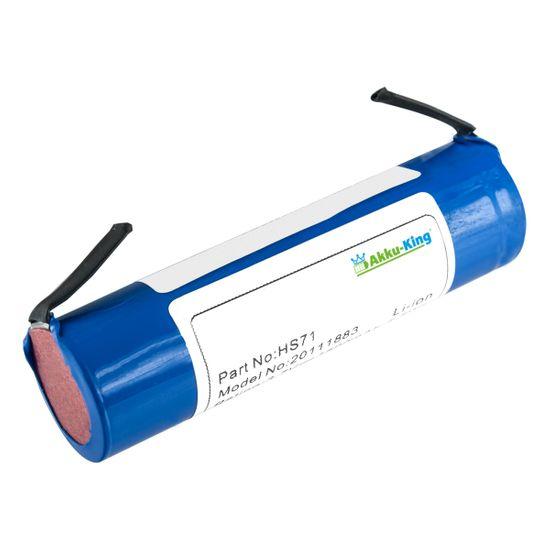 Akku kompatibel mit Bosch IXO, ISO, XEO, Heißklebepistole, Gardena 885-20, Mannesmann M17730 - ersetzt IXO, Isio - Li-Ion 1500 mAh 3,6 Volt