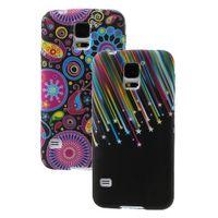 Hochwertige Schutzhülle, TPU Case für Samsung Galaxy S5, S5 Neo, GT-i9600, i9602, i9605, SM-G900, G903F - verschiedene Designs