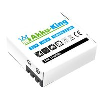Akku kompatibel mit SJCAM M10, SJ4000, SJ5000, SJ5000 Plus, SJ6000, SJ7000, SJ9000 - Li-Ion 900mAh