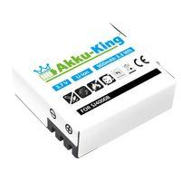 Akku-King Akku für QUMOX Action-Camera SJ4000, SJ4000 WiFi, SJCAM, SupTig3, DX 288812, DX 288813, BOOMYOURS - Li-Ion 900mAh
